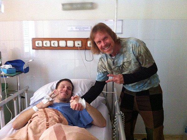 2014-11-25 Aidan In Jakarta Hospital 001