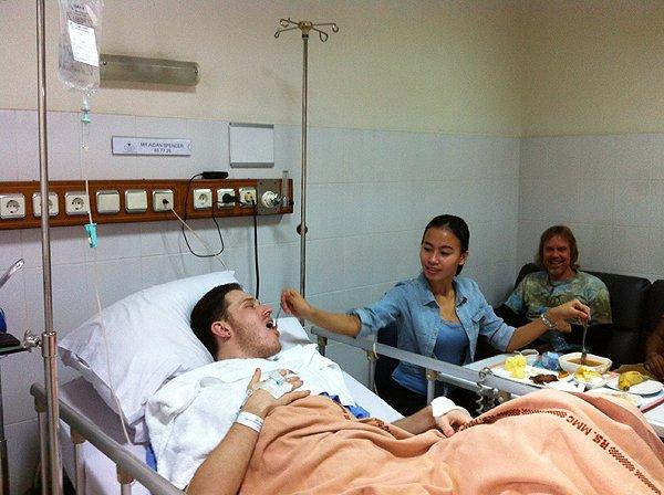 2014-11-25 Aidan In Jakarta Hospital 003