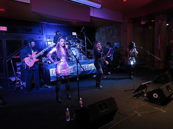 2014-12-31 Liquid Blue Band in Payson AZ at Mazatzal Casiono 101