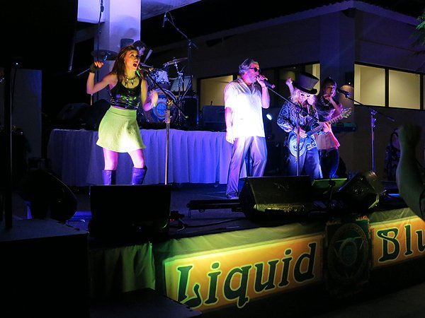 2015-01-14 Liquid Blue Band in Guanacaste Costa Rica at The Westin Playa Conchal 028