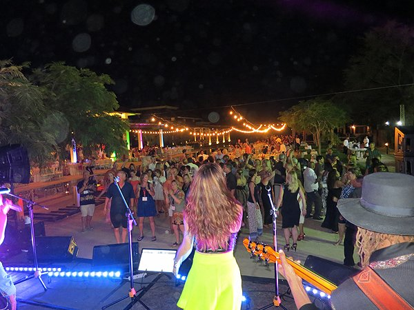 2015-01-14 Liquid Blue Band in Guanacaste Costa Rica at The Westin Playa Conchal 065