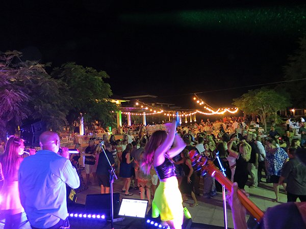 2015-01-14 Liquid Blue Band in Guanacaste Costa Rica at The Westin Playa Conchal 066