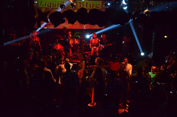 2015-02-13 Liquid Blue Band In Tijuana Baja CA Mexico At Tillys 081