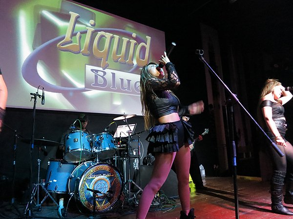 2015-02-20 Liquid Blue Band In Tijuana Baja CA Mexico At Tillys 033