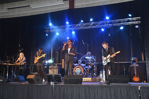 2015-06-06 Liquid Blue Band in Fort St John Canada at Fort St John Curling Club 000