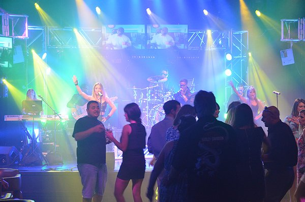 2015-06-19 Liquid Blue Band in Shreveport LA at Eldorado Casino 000