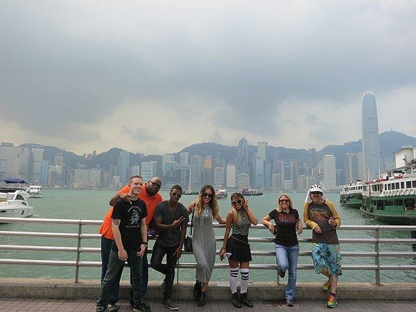 2015-09-19 Liquid Blue Band In Hong Kong China 24