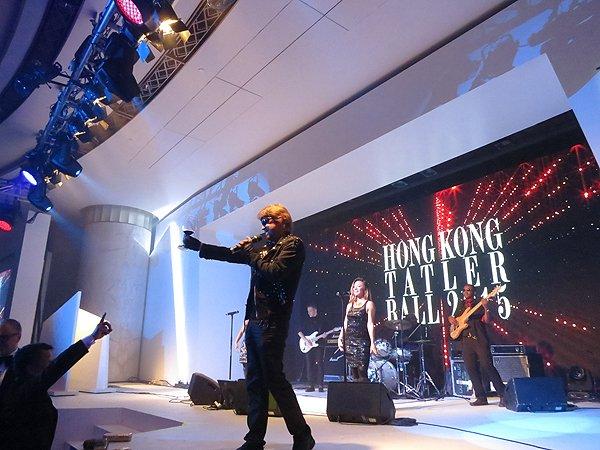 2015-09-19 Liquid Blue Band In Hong Kong China At Grand Hyatt 301