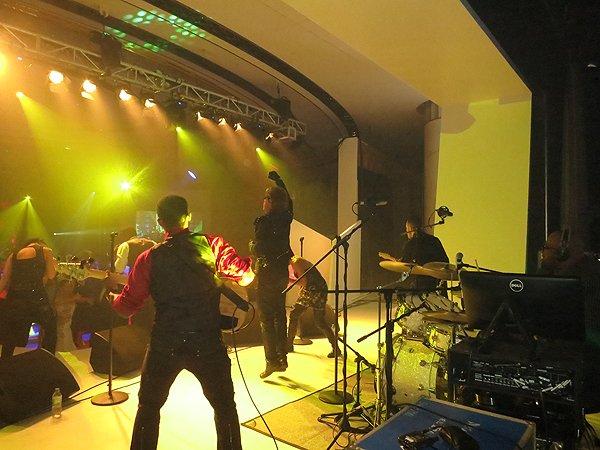 2015-09-19 Liquid Blue Band In Hong Kong China At Grand Hyatt 343