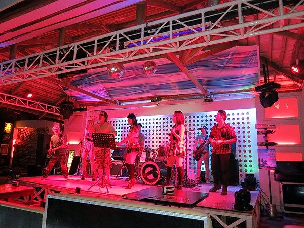 2015-09-30 Liquid Blue Band In Puerto Princesa Philippines At E Republik 17