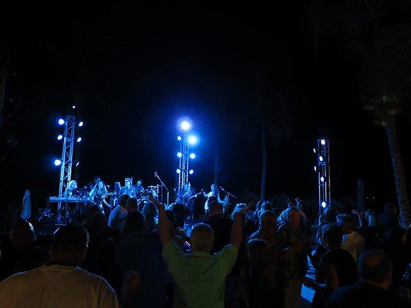2016-01-11 Liquid Blue Band in Puerto Vallarta Mexico at Secrets Resort 132