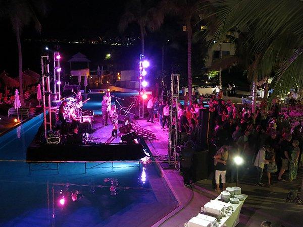 2016-01-11 Liquid Blue Band in Puerto Vallarta Mexico at Secrets Resort 206