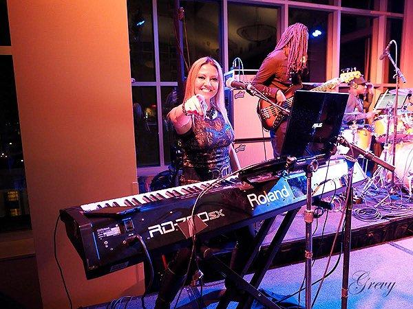 2016-01-22 Liquid Blue Band in New Orleans LA at Sheraton Hotel 201