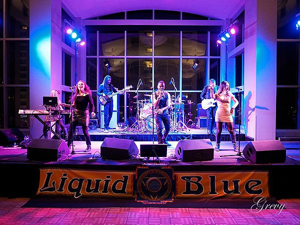 2016-01-22 Liquid Blue Band in New Orleans LA at Sheraton Hotel