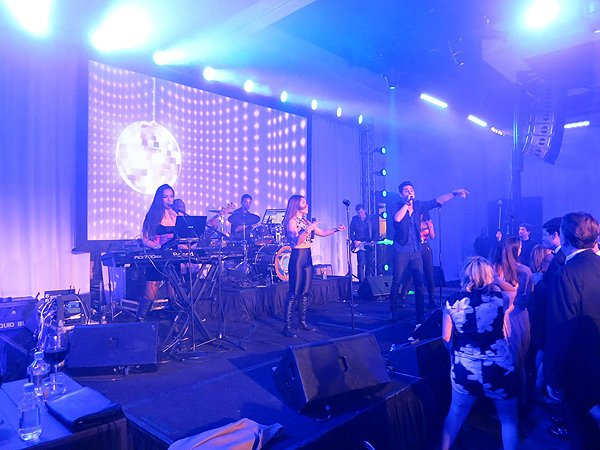 2016-01-22 Liquid Blue Band in Scottsdale AZ at Westin Kierland Resort 204