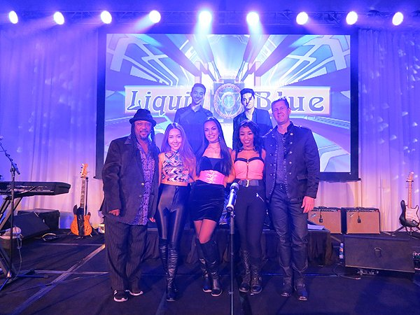 2016-01-22 Liquid Blue Band in Scottsdale AZ at Westin Kierland Resort 04