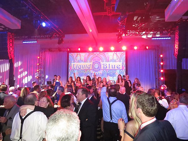 2016-01-22 Liquid Blue Band in Scottsdale AZ at Westin Kierland Resort 49