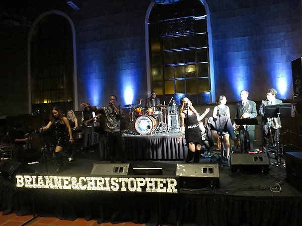 2016-03-19 Liquid Blue Band in Los Angeles CA at Union Station 005
