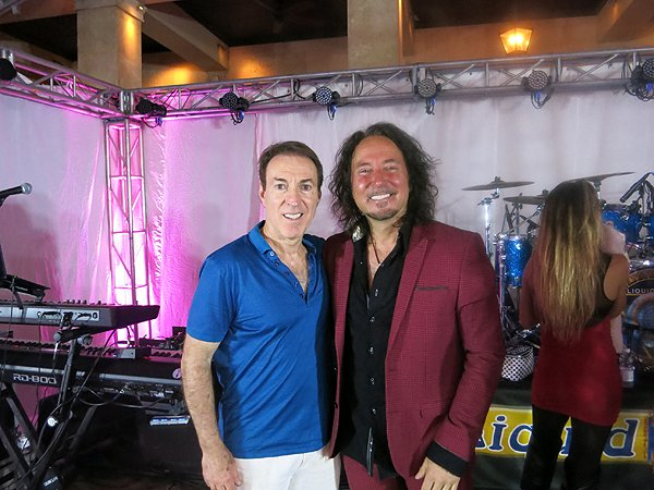 2016-05-03 Leonard Neil In Rio Grande Puerto Rico with Journey Singer Steve Augeri
