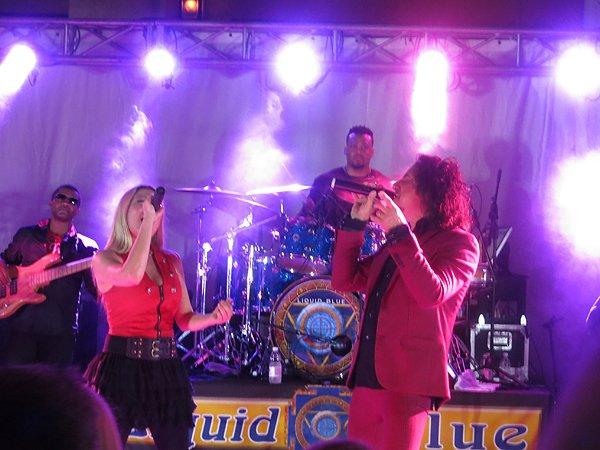 2016-05-03 Liquid Blue Band In Rio Grande Puerto Rico At St Regis Bahia Beach Resort 030