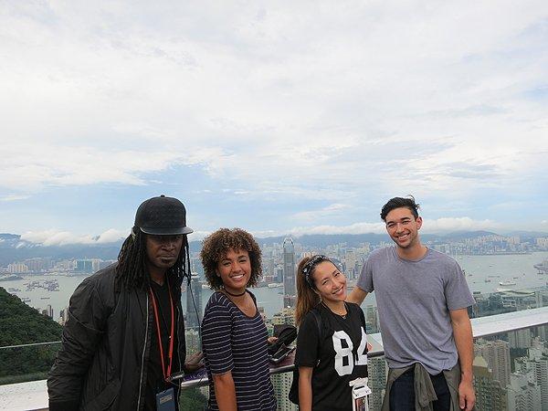 2016-09-09 Liquid Blue Band In Hong Kong China 005