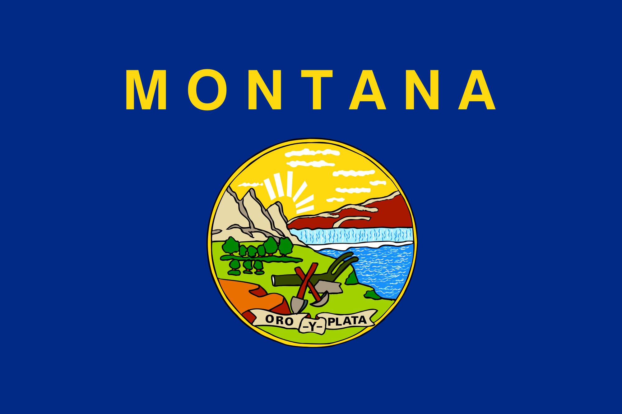 Flag of Montana