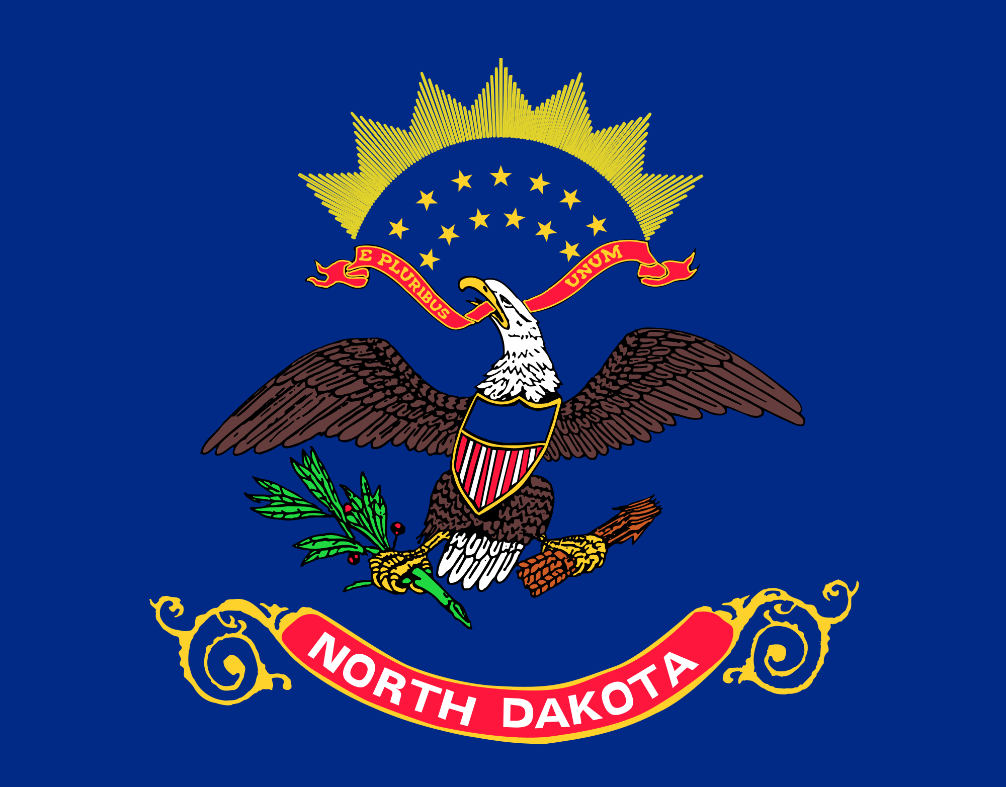 Flag of North Dakota