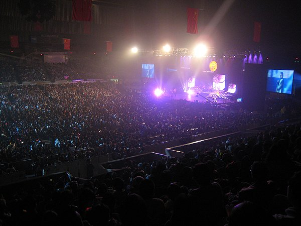 2007-03-03 San Francisco CA Cow Palace is Sold Out