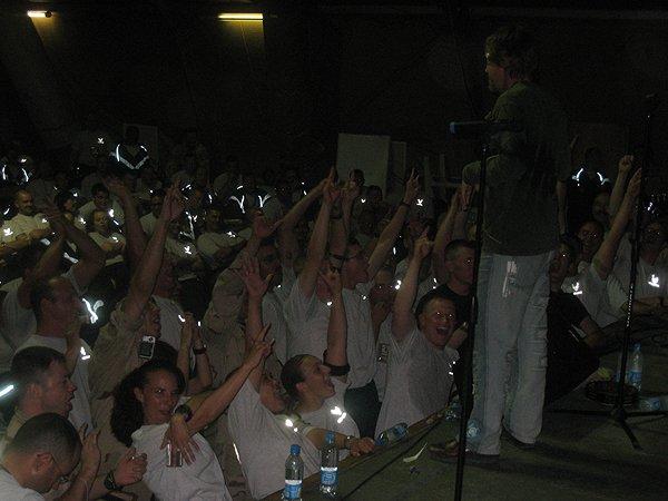 2007-05-07 Bishkek Kyrgyzstan Happy Fans