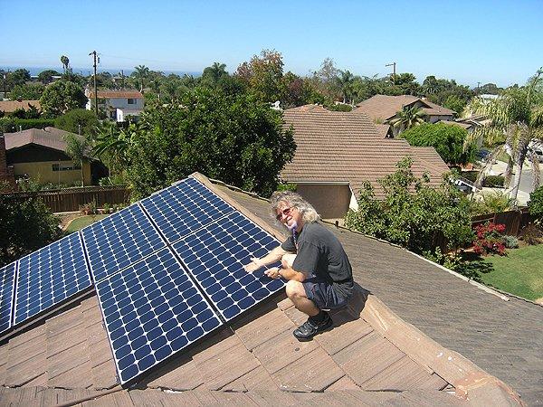 2008-10-07 Solar Install 003