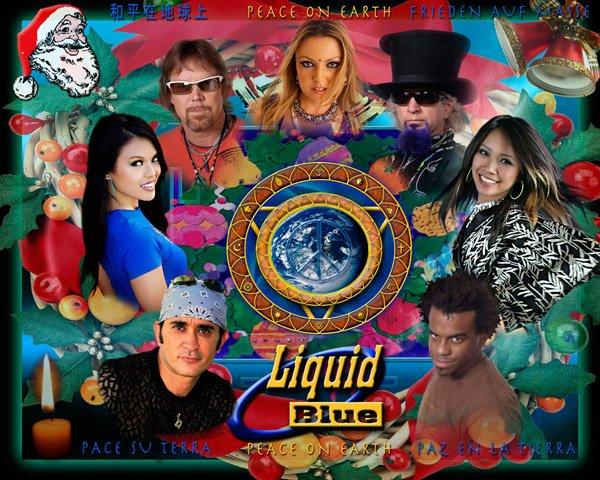 2008 Band Circle Xmas Card
