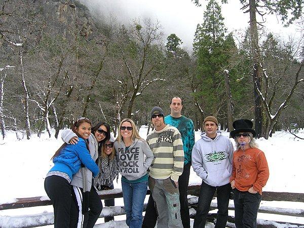 2009-01-02 Liquid Blue Band in Yosemite CA 008