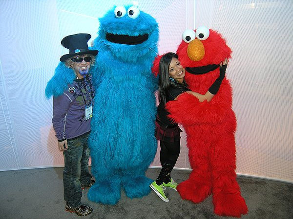 2009-01-18 Liquid Blue Band in Anaheim CA NAMM 013