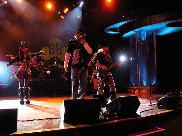 2009-04-25 Liquid Blue Band in Brooks CA at Cache Creek Casino 001