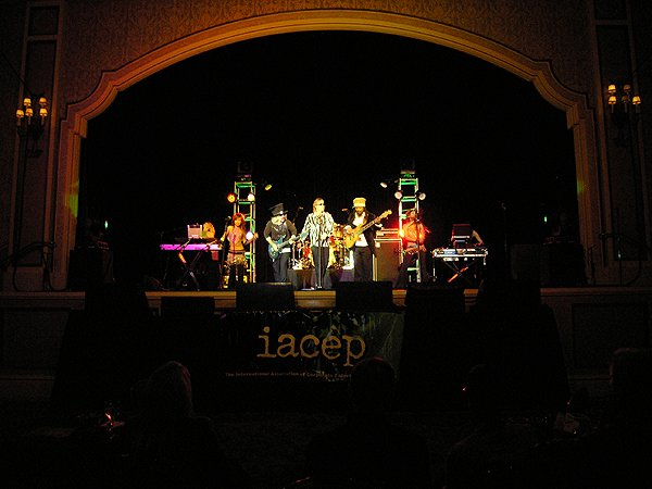 2009-09-09 Liquid Blue Band in Henderson NV at IACEP Showcase 002