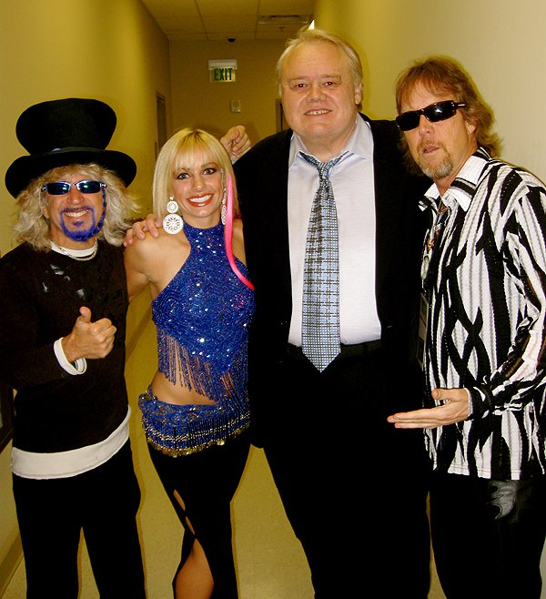 2009-09-09 Liquid Blue Band with Louie Anderson