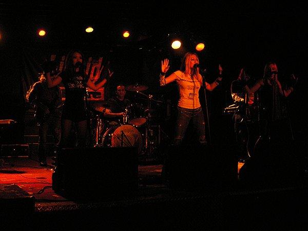 2010-02-06 Liquid Blue Band in San Diego CA at Brick By Brick 001