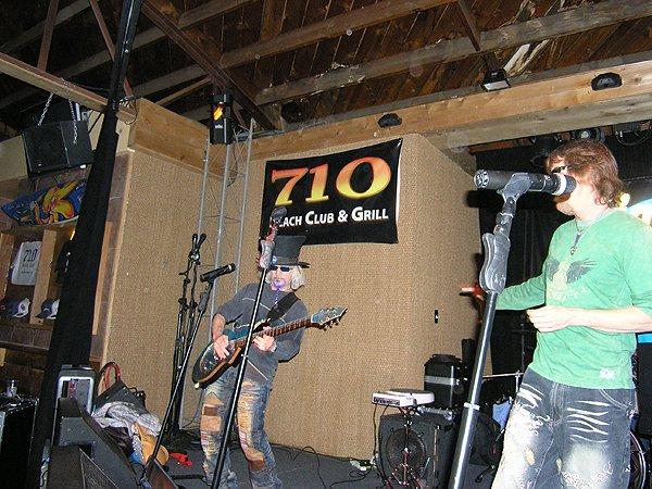 2010-03-03 Liquid Blue Band in Pacific Beach CA at 710 Club