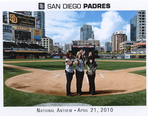 2010-04-21 Liquid Blue Band in San Diego CA at Petco Park National Anthem 002