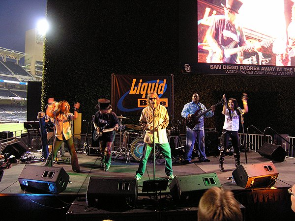 2010-07-03 Liquid Blue Band in San Diego CA at Petco Park 001