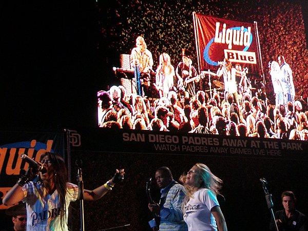 2010-07-03 Liquid Blue Band in San Diego CA at Petco Park 004