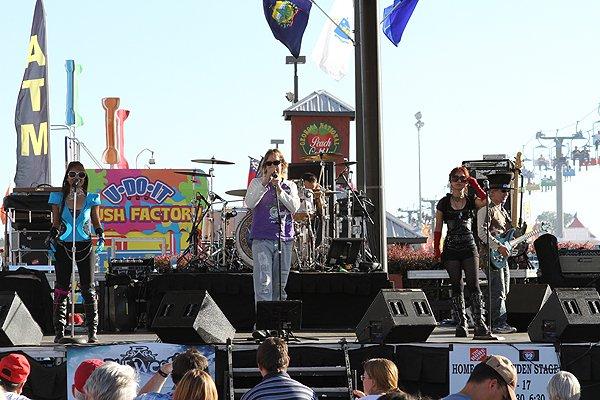 2010-10-16 Liquid Blue Band in Perry GA at Georgia National Fair 001