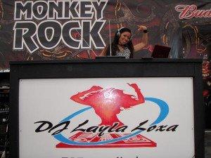 2010 DJ Layla Loxa at Sturgis