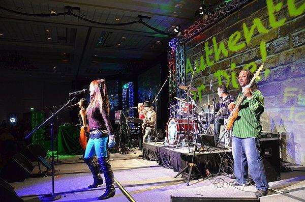 2011-02-09 Liquid Blue Band in San Antonio TX at Hyatt Hotel 000