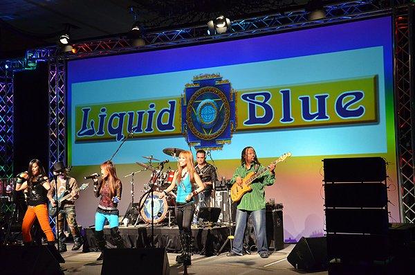 2011-02-09 Liquid Blue Band in San Antonio TX at Hyatt Hotel 009