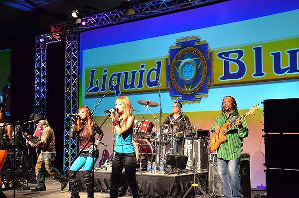 2011-02-09 Liquid Blue Band in San Antonio TX at Hyatt Hotel 010
