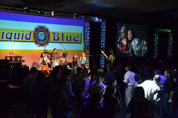 2011-02-09 Liquid Blue Band in San Antonio TX at Hyatt Hotel 013