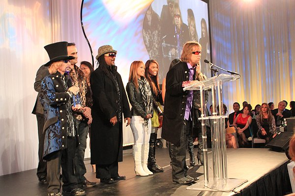 2011-02-28 Liquid Blue Band in Las Vegas NV Spotlight Awards Acceptance Speech 002