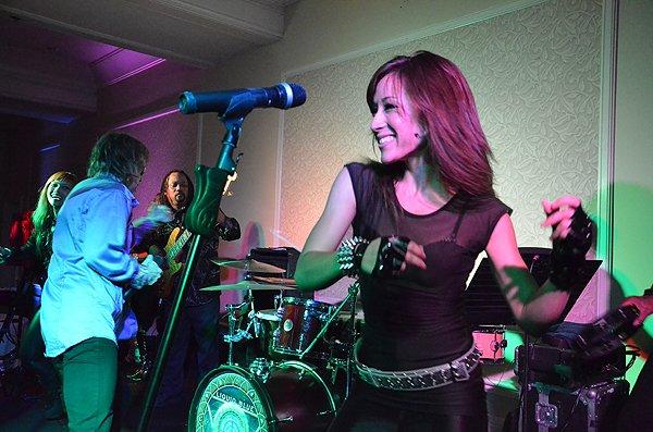 2011-08-20 Liquid Blue Band in Huntington Beach at Hyatt Regency Hotel 014