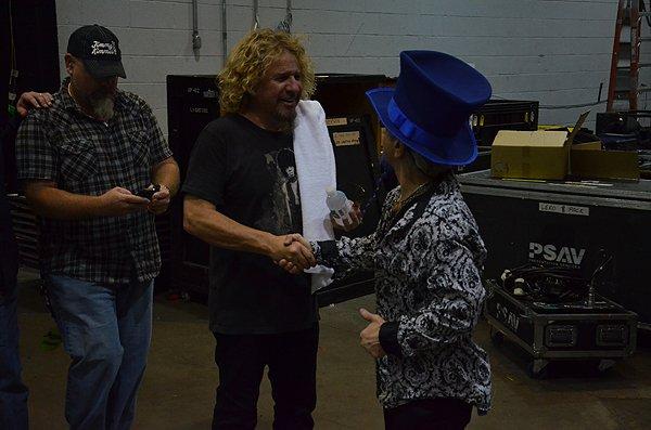 2011-11-15 Liquid Blue Band in Las Vegas NV with Sammy Hagar 001